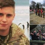 Hundreds attend memorial event for soldier Scott Hetherington