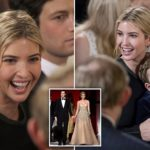 Ivanka Trump goes casual for White House senior staff swearing in
