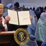Donald Trump signs order to ban refugees from entering the country