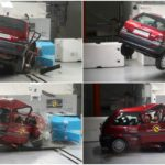 Aftermath of crash test shows how far car safety has come in 20 years