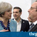 François Hollande leads attacks on Donald Trump at EU summit
