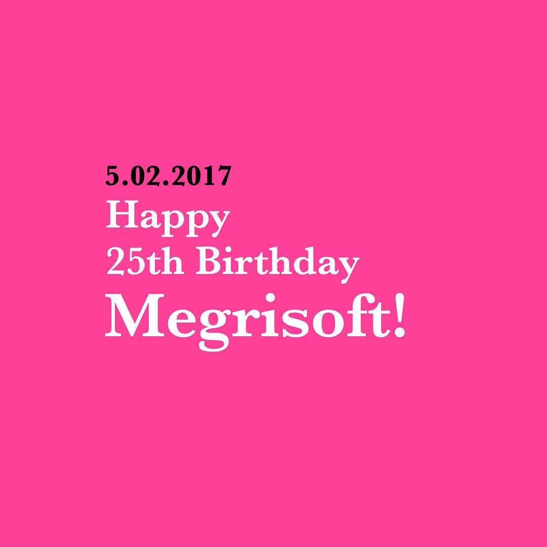 Megrisoft celebrates 25th Anniversary on February 5, 2017