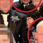 Wedding picture which exposed possible £25k insurance scam