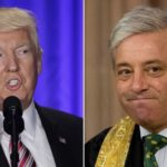 Speaker John Bercow criticised over Donald Trump comments