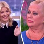 Holly Willoughby suggests Kim Woodburn FAKED that explosive row with Philip Schofield