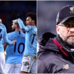 Manchester City go top with Everton victory to pile pressure on faltering Liverpool