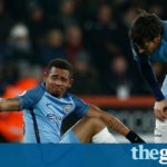 Manchester City fear Gabriel Jesus could miss rest of season with metatarsal fracture