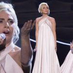 Lady Gaga swaps edgy tattoos for traditional elegance at the RVP
