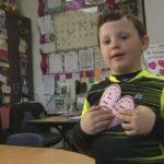 6-year-old boy sends Valentine's Day treats to entire school