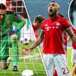 Bayern Munich 5 – Arsenal 1: Gunners face Champions League exit after second-half blitz