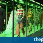 Milan fashion week: Gucci embraces its brilliant absurdity with fluid show