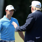 McIlroy defends playing golf with Trump