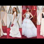 2017 Oscar Awards Red Carpet Fashion – Light Hues