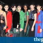 Armani gets back to business in Milan after glamour of the Oscars