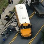 6 injured in Georgia school bus accident