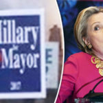 'Hillary for Mayor' Posters around New York City hint Clinton may RETURN to politics