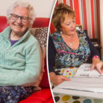 Woman learning to read at the age of 87 after hiding her illiteracy all her life