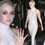 Kristen Stewart stuns in gown and buzz cut at premiere