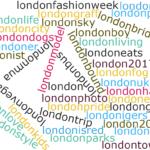 50 Most Popular Social Media (#) Hashtags in London