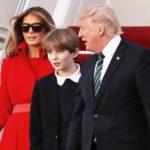 Barron Trump Makes Rare White House Appearance