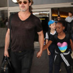 Brad Pitt 'Full Of Joy' After Cheeseburger-Filled Reunion With Kids