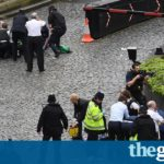 Parliament attack: man shot by police and several hurt in terrorist incident