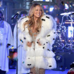 Mariah Carey Laments Lack Of 'Hot Tea' During New Year's Performance