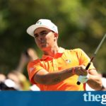 Rickie Fowler and Justin Rose pitch for the Masters at Shell Houston Open