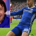 Antonio Conte hits out at Real Madrid attempts to unsettle Eden Hazard