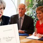 Sturgeon sidesteps May as Scotland signs new deal with state trying to BREAK AWAY from US