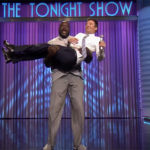 Shaquille O'Neal Kisses & Spanks Jimmy Fallon During Epic 'Lip Sync Battle'