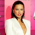 Adriana Lima Looked Angelic In White and Gold