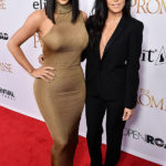 Kim & Kourtney Kardashian Slay In Sexy Outfits At 'The Promise' Movie Premiere — Pics