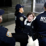 Arrests in Trump immigration policy protest