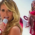 Heidi Klum makes singing debut on AGT Holiday Spectacular