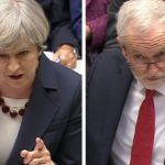 Theresa May and Jeremy Corbyn in heated exchange at final PMQs ahead of General Election