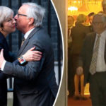 BREXIT SHOWDOWN: Juncker and Barnier look stoney-faced after crunch talks with Theresa May