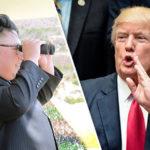 Trump's 'armada' within 'STRIKING DISTANCE' of North Korea amid fears of nuclear blast