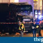 Berlin truck terrorist attack: 12 killed in Christmas market crash – live