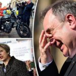 'Is Sturgeon frightened?' Salmond loses his temper as support for independence PLUMMETS