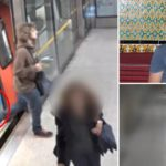 CCTV shows 'teenager leave rucksack packed with explosives on busy Tube train'