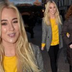 Nicola Hughes reunites with mum Rosalyn in Dublin for Christmas