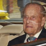 Prince Philip leaves Buckingham Palace in tears after retiring from royal duties