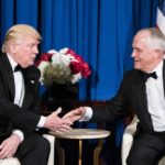 'I love Australia' Trump says as leaders meet after refugee row