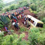 Dozens of schoolchildren killed in Tanzania bus crash