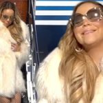Mariah Carey arrives in Aspen for Christmas holiday