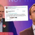 Corbyn RIDICULED on Twitter after saying he is 'looking forward to working with Macron'