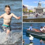 Brits bask in unexpected mini heatwave – and it's going to get hotter this week
