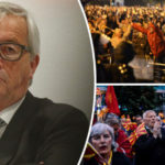 'Brussels-ordered COUP' Thousands REVOLT over 'EU meddling' in another European country