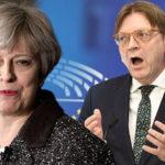 It's a SNUB! Brussels FURIOUS As Britain To Boycott Verhofstadt's EU Meeting On Brexit